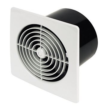 Manrose LP150STW Kitchen Extractor Fan with Timer 150 mm