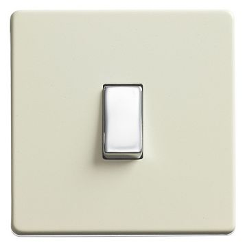 Varilight White Chocolate Light Switch - 1 10A