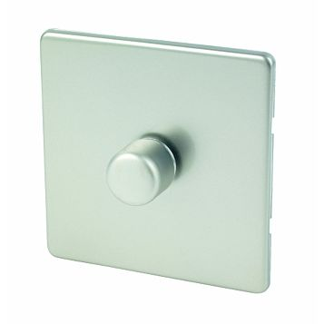 Varilight 1-Gang 2-Way Chrome Effect Push LED Dimmer Switch