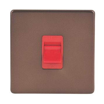 Varilight 1-Gang 45A Cooker Switch