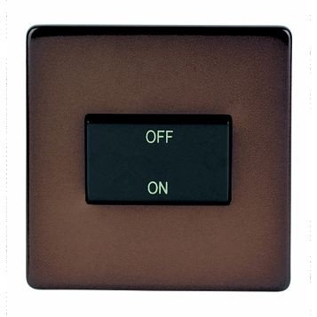 Varilight 1-Gang 10A Brown Fan Isolator Switch
