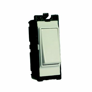 Varilight 1-Gang 2-Way 20A White Switch Module