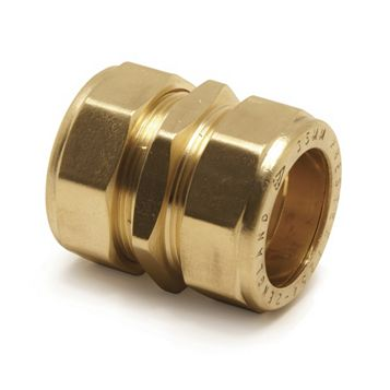 Pegler Compression Straight Coupler (Dia)8 mm