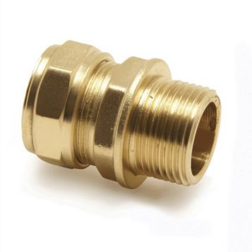 Pegler Compression Male Coupler (Dia)15 mm