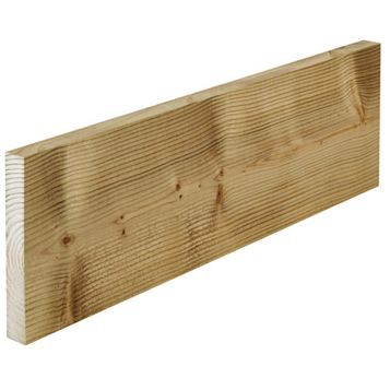Timber Sawn Treated (T)21mm (W)147mm (L)3600mm
