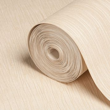 Loretta Beige Plain Wallpaper