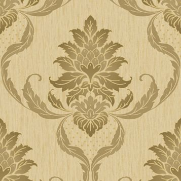 Loretta Damask Wallpaper