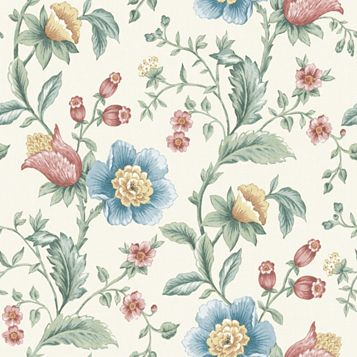 Laurette Floral Wallpaper