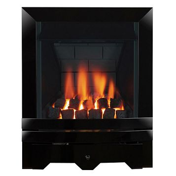 Focal Point Noir Multi Flue Black Manual Control Inset Gas Fire