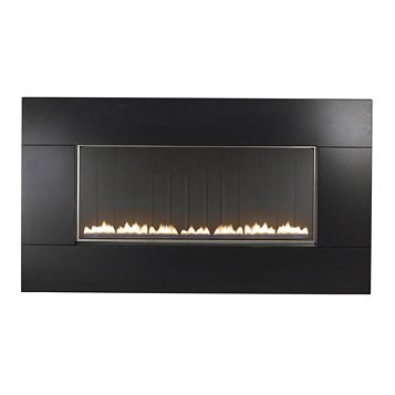 Focal Point Pinoir Black Manual Control Wall Hung Gas Fire