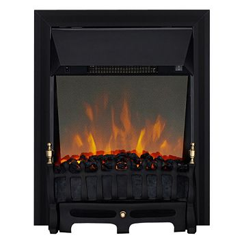 Blenheim Black Inset Electric Fire