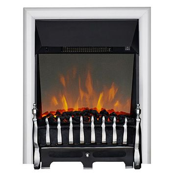 Blenheim Chrome Inset Electric Fire
