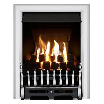 Blenheim Multi Flue Chrome Effect Manual Control Inset Gas Fire