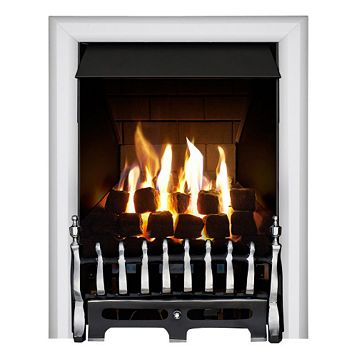 Focal Point Blenheim Multi Flue Black Remote Control Inset Gas Fire