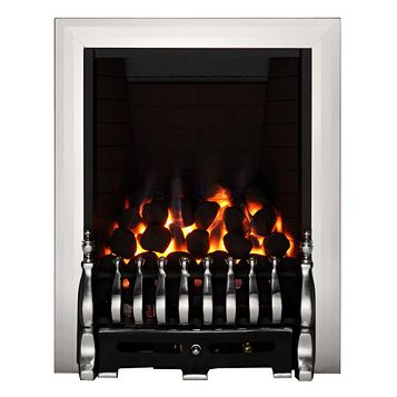 Focal Point Blenheim Full Depth Black Manual Control Inset Gas Fire