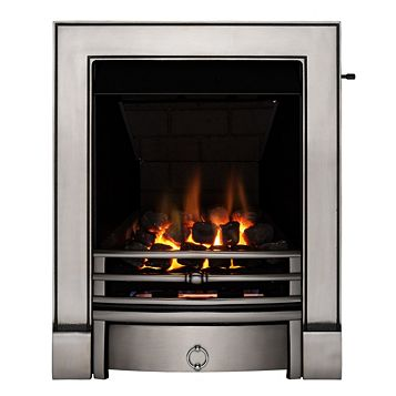 Focal Point Soho Multi Flue Black Slide Control Inset Gas Fire