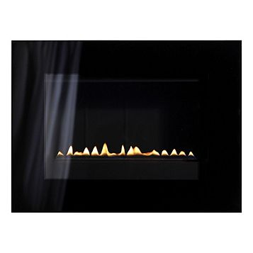 Focal Point Cheshire LPG Black Manual Control Wall Hung Gas Fire