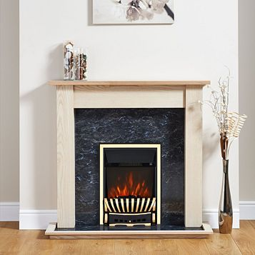 Focal Point Elegance Electric Inset Electric Fire Suite