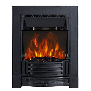 Finsbury Black Inset Electric Fire