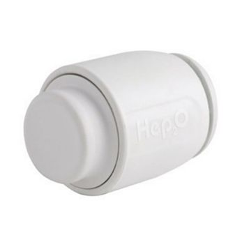 Hep2O Push Fit Stop End (Dia)22 mm, Pack of 10