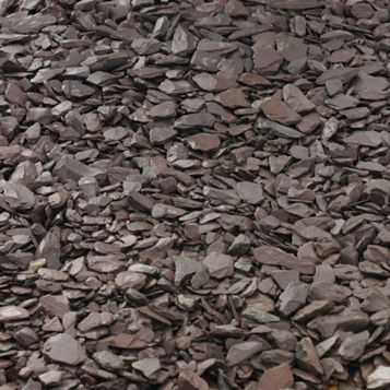 Decorative Slate Chippings, 800 kg Bulk Bag