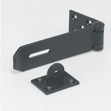 Securefast Steel Heavy Duty Hasp & Staple, 147mm