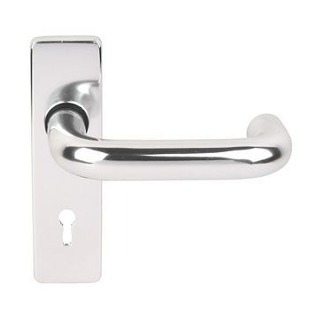 Eclipse Less Able Excell Polished Lock Handle, Pack of 2