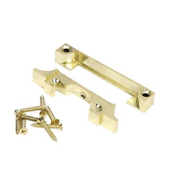 Eclipse Nickel-Plated 1 Lever Mortice Latch Rebate Kit