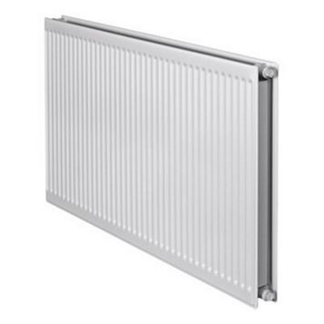 Barlo Round Top Type 21 Double Plus Panel Radiator, (H)400 (W)1200mm