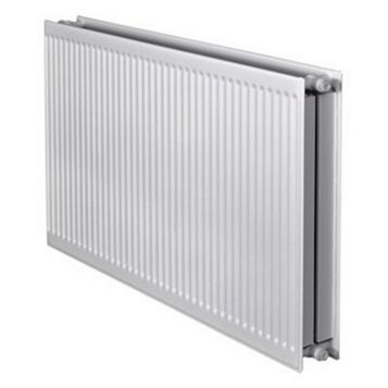 Barlo Round Top Type 22 Double Panel Radiator, (H)600 (W)600mm