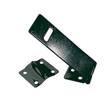 Steel Hasp & Staple, 100mm