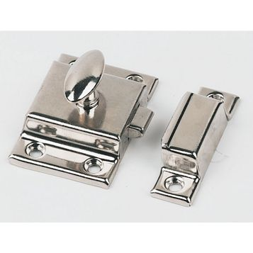 Nickel Plated Thumbturn Catch