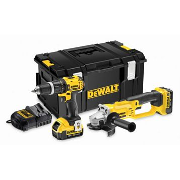 DeWalt Xr Cordless 18V Power Tool Twin Pack DCK286M2-GB