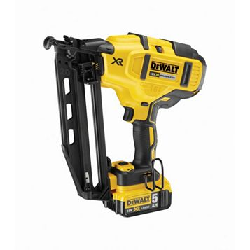 DeWalt 18V 5Ah Second Fix Nailer, DCN660P2-GB
