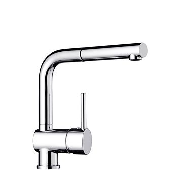 Blanco Mixa Chrome Effect Pull Out Tap