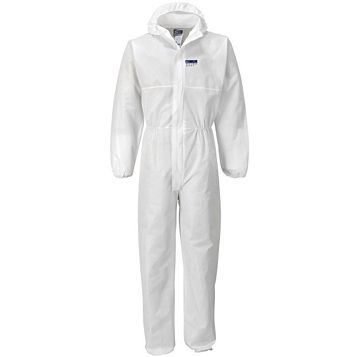 Portwest Extra Large Hooded Coverall