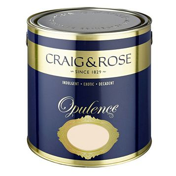 Craig & Rose Opulence White Chocolate Matt Emulsion Paint 2.5L