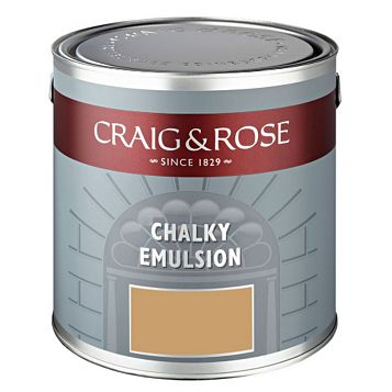 Craig & Rose Authentic Period Colours Kitchen Gold Matt Emulsion Paint 2.5L