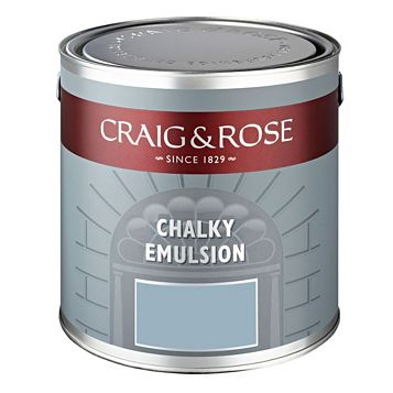 Craig & Rose Authentic Period Colours Pompadour Chalky Matt Emulsion Paint 2.5L
