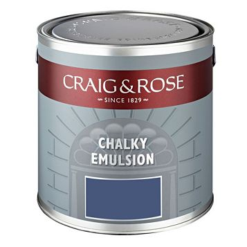 Craig & Rose Authentic Period Colours Smalt Matt Emulsion Paint 2.5L