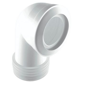 McAlpine MAC-8 White Pan Connector (Dia)90/112mm (L)235mm