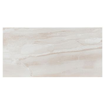 Fossilised Wood Sand Ceramic Wall & Floor Tile, Pack of 6, (L)598mm (W)298mm