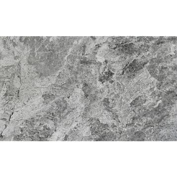 Haver Travertine Storm Stone Effect Ceramic Wall & Floor Tile, Pack of 6, (L)298mm (W)498mm