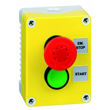 Hylec 2-Way Yellow A-Lock Start Push Button