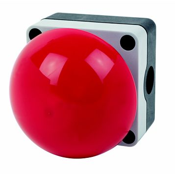 Hylec Red Emergency Palm/Foot Stop Switch