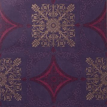 Sophie Conran Zaggaro Medallion Shiny Wallpaper