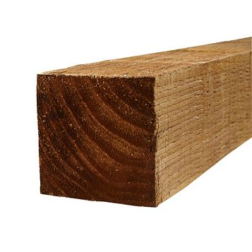 BSW Timber Fence Post, 100mm x 1.8m