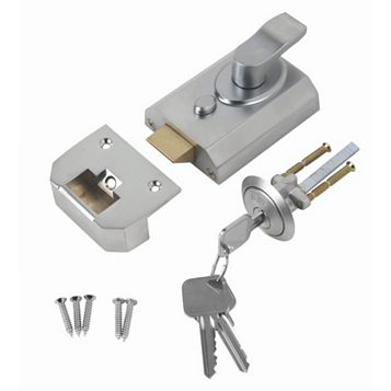 Smith & Locke 60mm Chrome Effect Deadlock Night Latch ST-SCHR-60