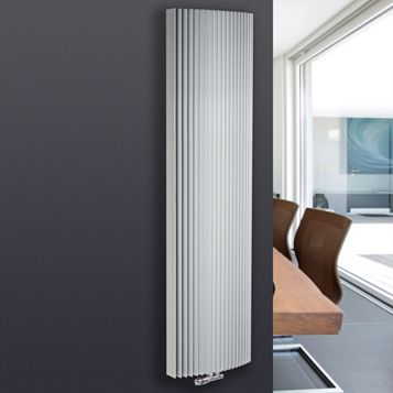 Jaga Iguana Arco Vertical Radiator White, (H)1800 mm (W)519mm