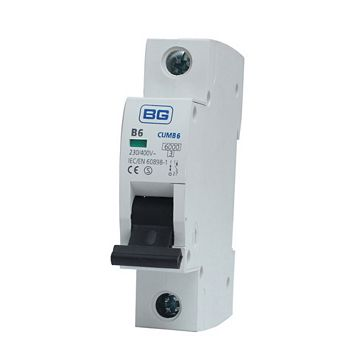 British General 6A MCB (Miniature Circuit Breaker)